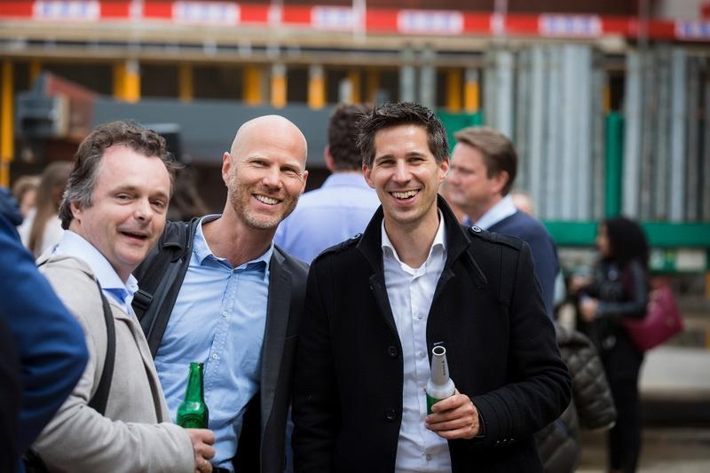 Rotterdam Ahoy bereikt hoogste punt nieuwbouw met RTM Stage